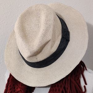 J. CREW Straw Paper Hat